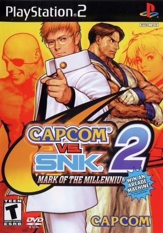 Ps2 Analisis De Los Mejores Juegos Capcom Vs Snk 2 Mark Of The