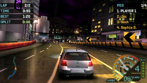Need For Speed Underground Rivals [PSP] [DF]