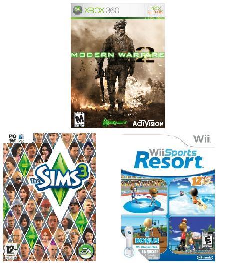 los-juegos-mas-vendidos-en-2009